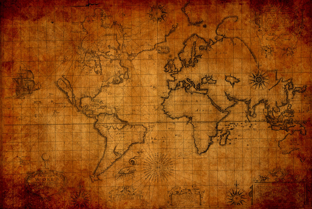 1093x731px old world map wallpaper border wallpapersafari antique map of the world 1093x731 freerunsca Gallery