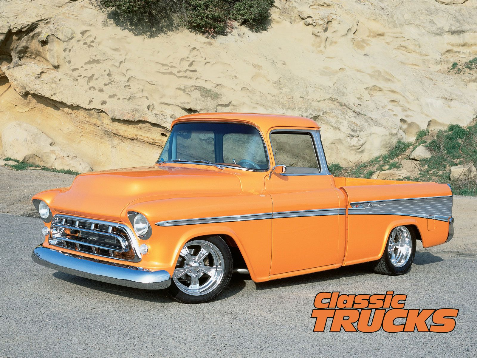 Classic Truck HD Background Wallpapers 9247   Amazing 1600x1200