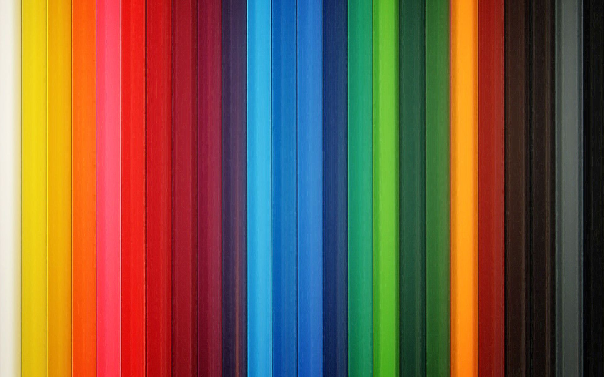 Colorful Pencils Wallpapers HD Wallpapers 1920x1200