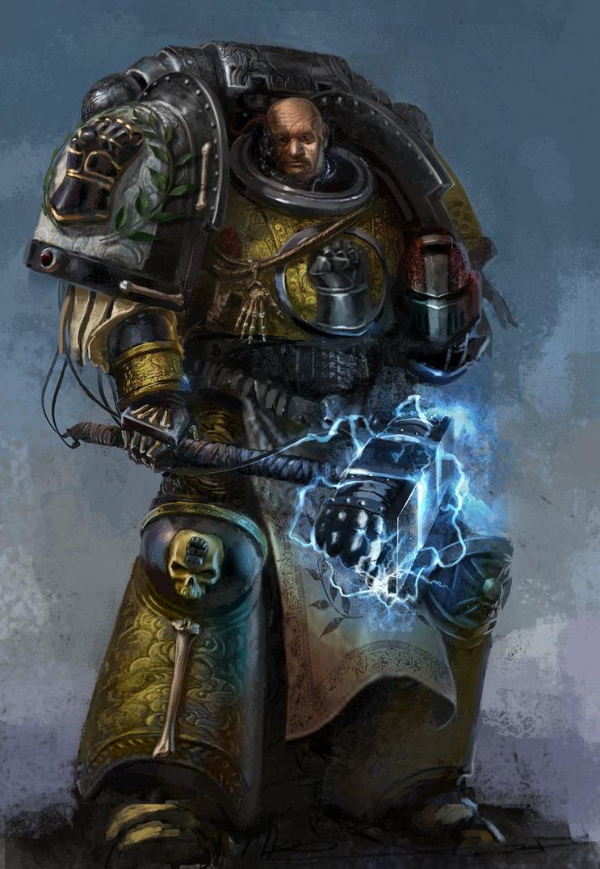 Valrak   Imperial Fist by DavidSondered 743x1075