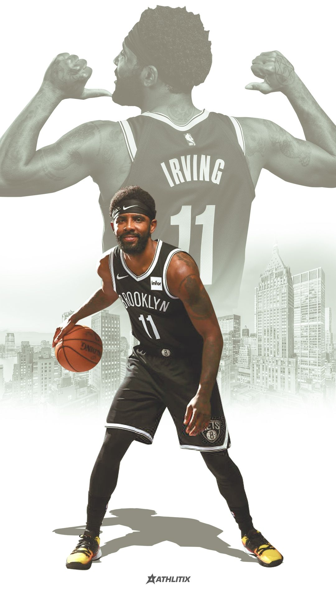 Kyrie Irving Brooklyn Nets wallpaper Kyrie irving Kyrie irving 1080x1920