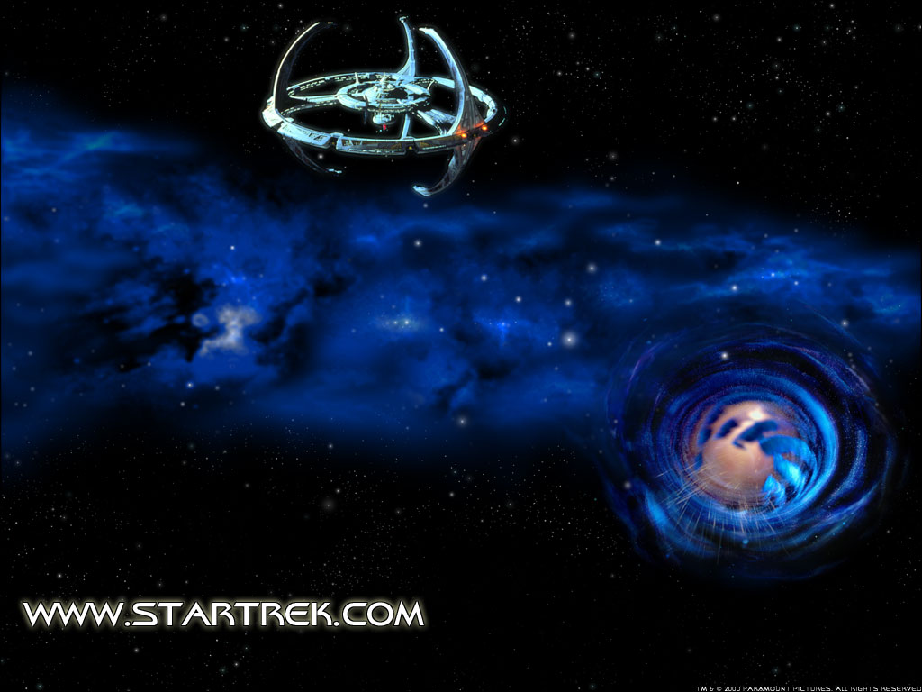 Download Deep Space Nine wallpaper Deep Space Nine Worm Hole 2 1024x768