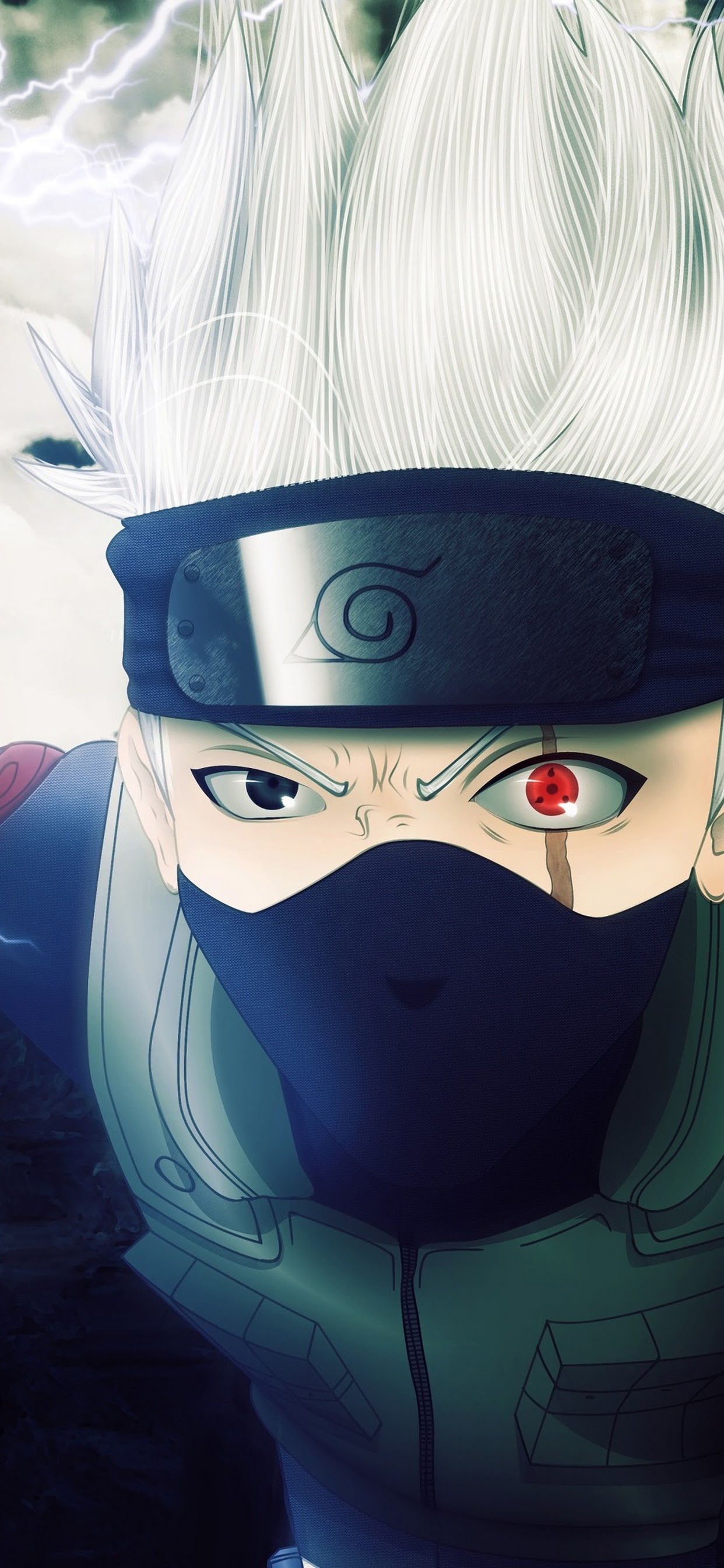 Kakashi Hatake Sharingan 4K Wallpaper 15 1242x2688