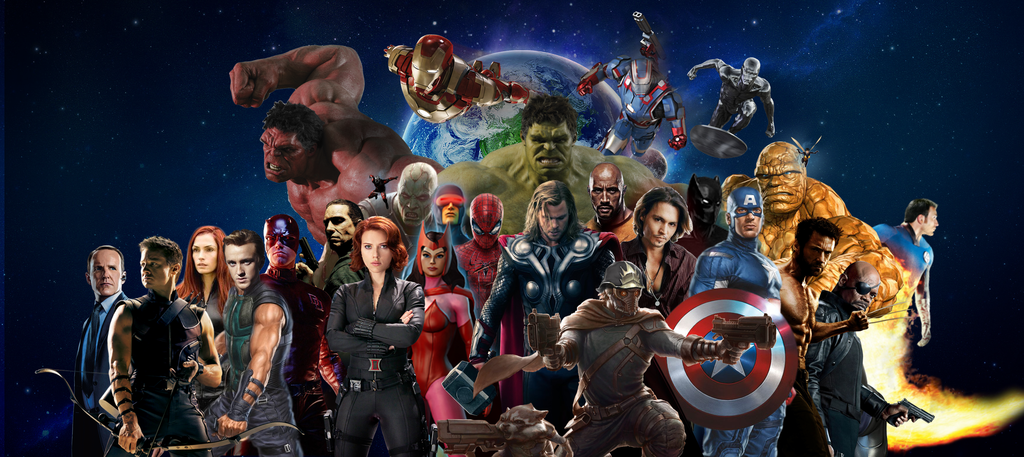 MARVEL HEROES Cinematic by MrSteiners 1024x457