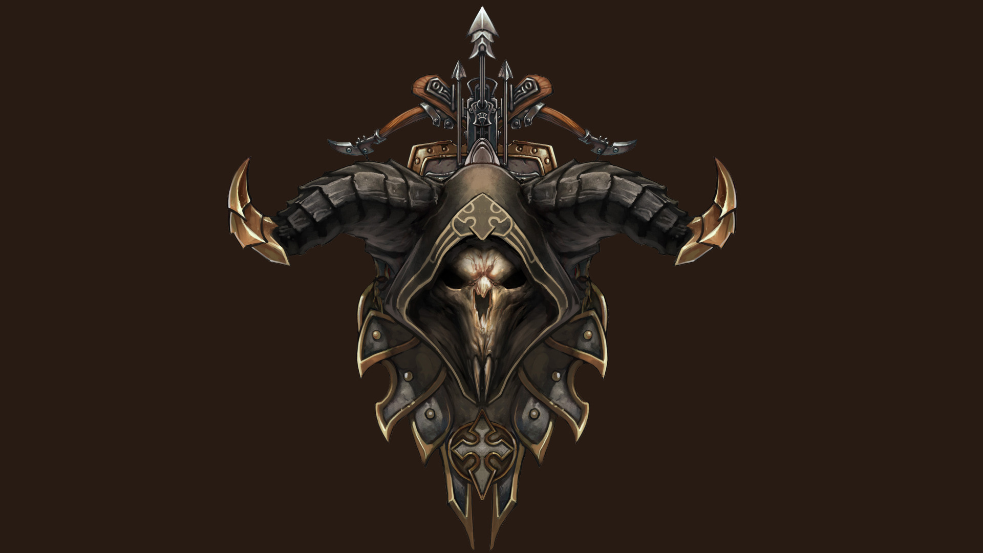48 Diablo 3 Demon Hunter Wallpaper On Wallpapersafari