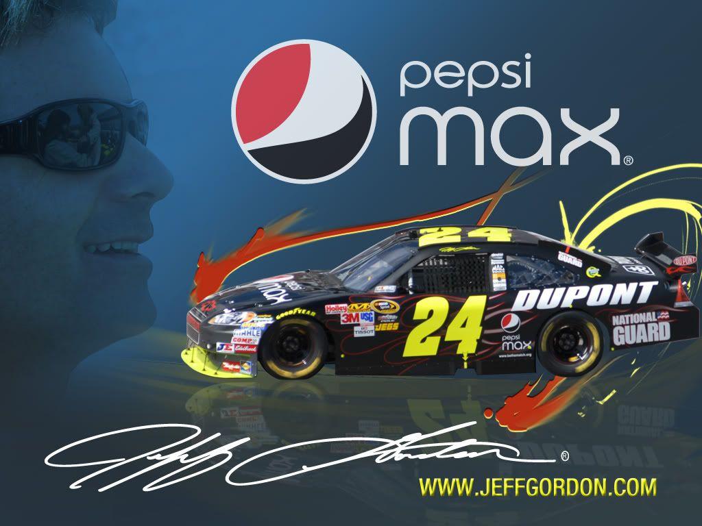 Jeff Gordon Pepsi Max Desktop Wallpaper   wallpaper source 1024x768