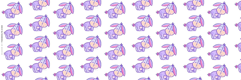 Free Download Cute Baby Eeyore Askfm Background Cartoon