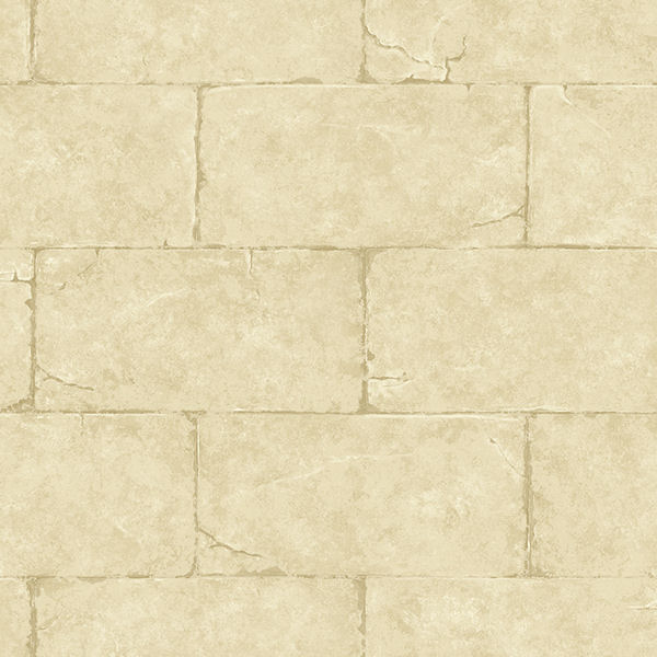Gold Sandstone Block Wall Wallpaper   Wall Sticker Outlet 600x600