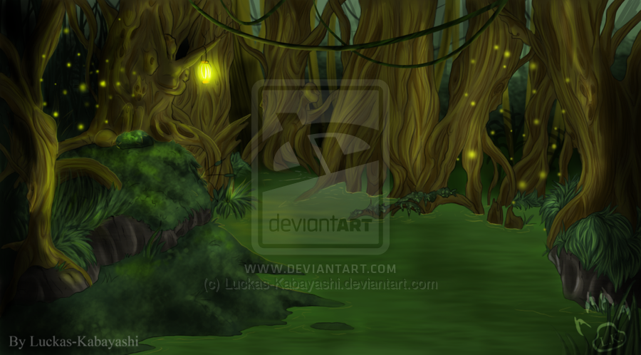 Swamp Background by Luckas Kabayashi 900x498