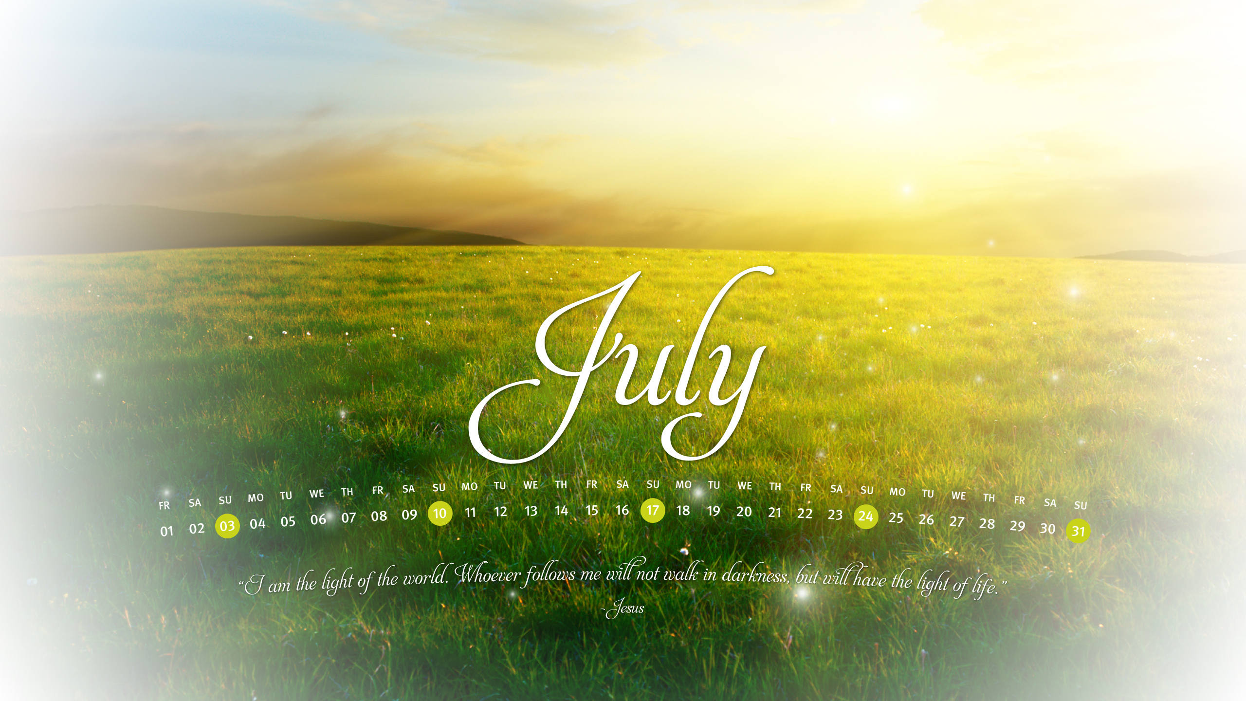 Christian Wallpaper Calendar : Christian calendar wallpaper and screensavers