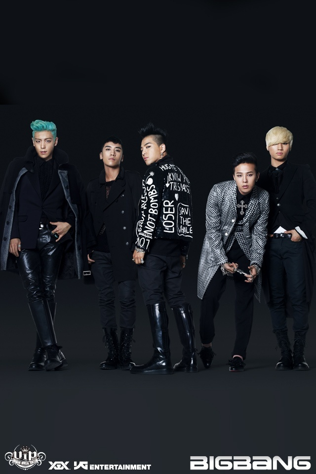 Kpop Fanz Big Bang ALIVE Japanese Version Official IPhone Wallpaper 640x960