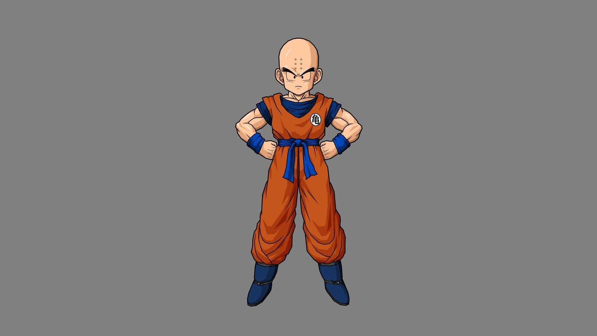 Dragon ball krillin wallpaper 14126 1920x1080