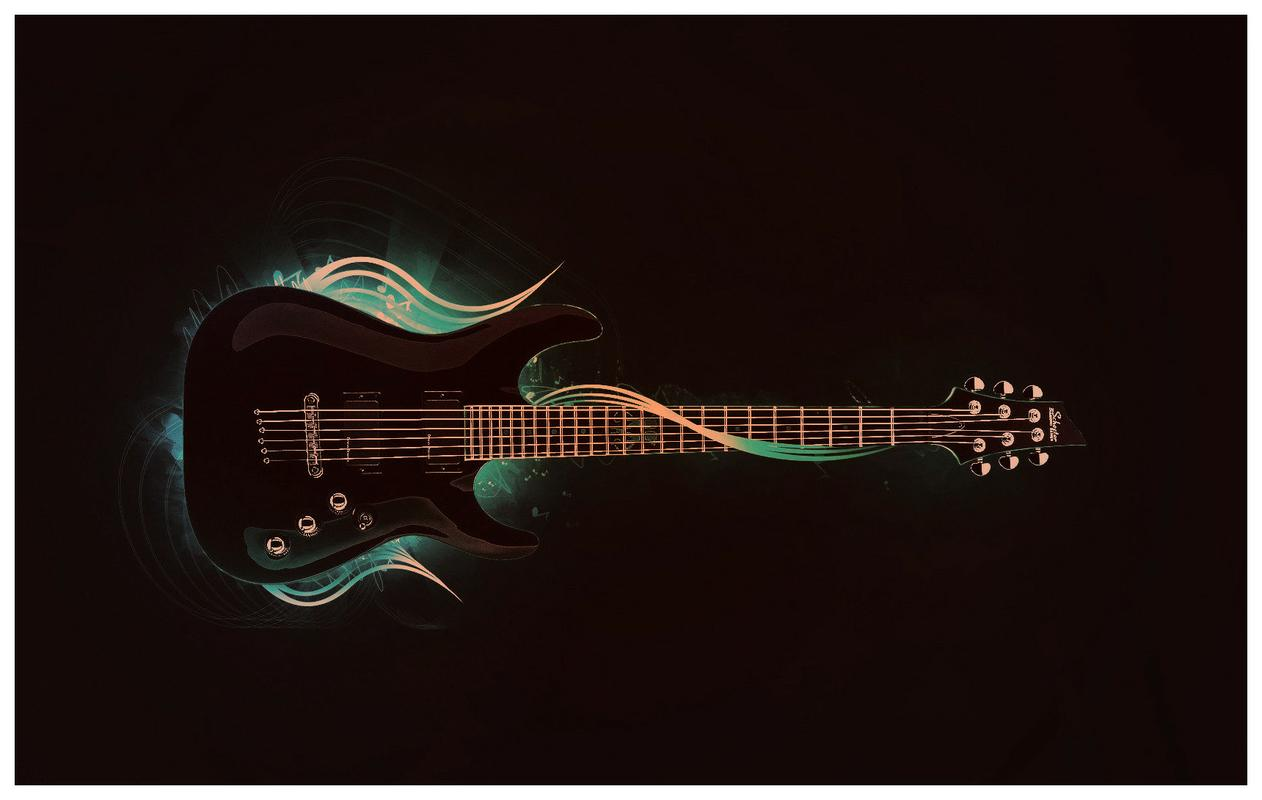 Schecter Electric Guitar   Toaster HD Wallpaper   Hot Wallpapers HD 1262x800