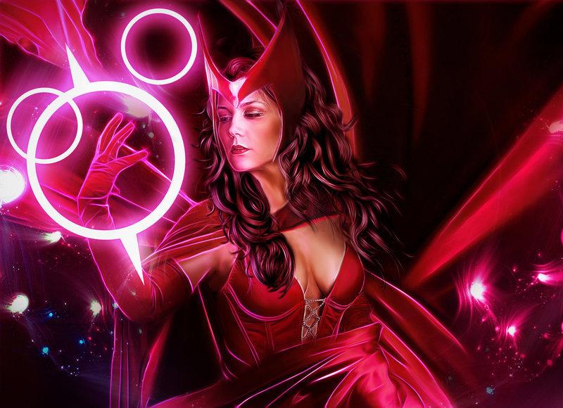 Scarlet Witch HD Wallpaper 800x580