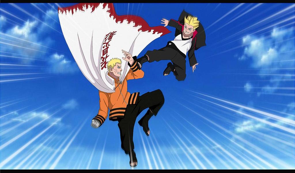 Naruto and Boruto wallpaper 872012 cute Wallpapers 1024x600