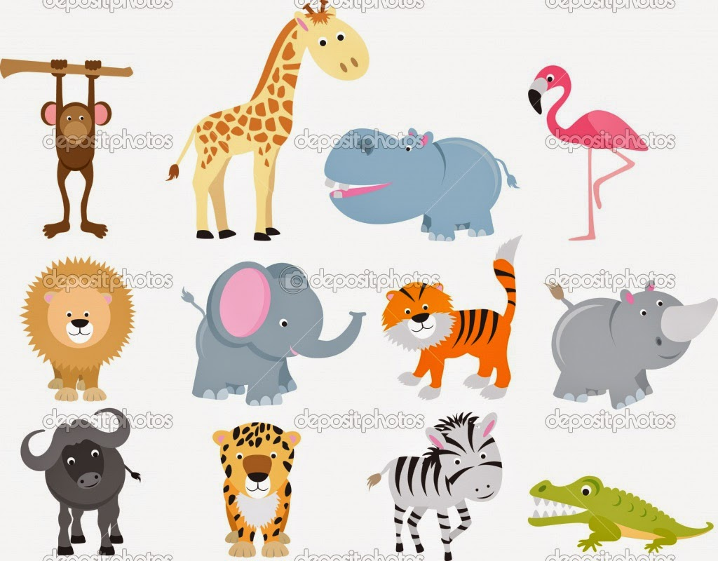 Animal Cartoon in high resolution for High Definition Backgrounds 1024x800