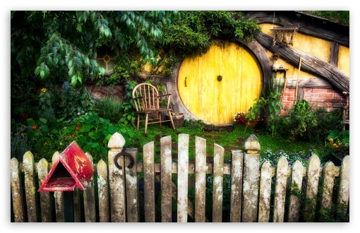 Download Hobbit House wallpaper 510x330