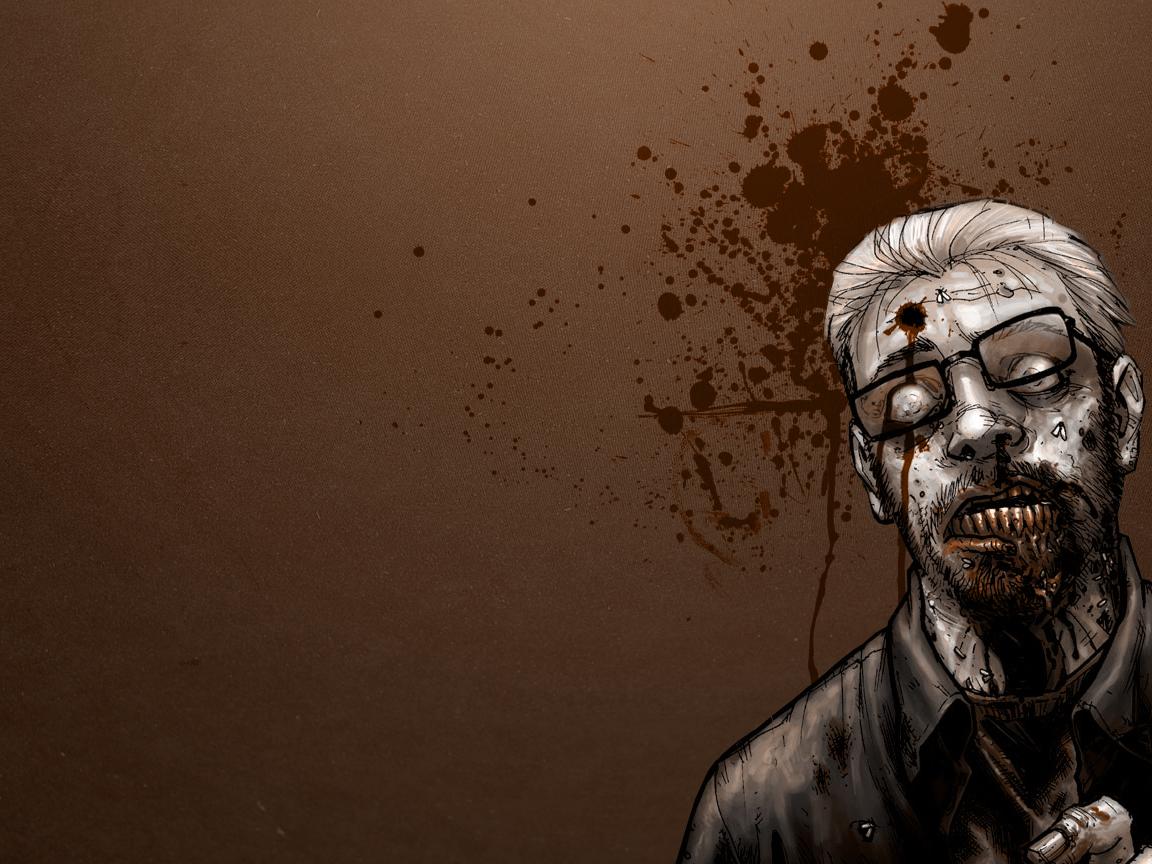 Dark   Zombie Wallpaper 1152x864