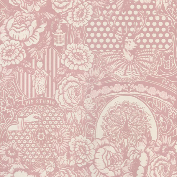 Modern toile wallpaper wallpapersafari - Wallpaper 600x600 ...