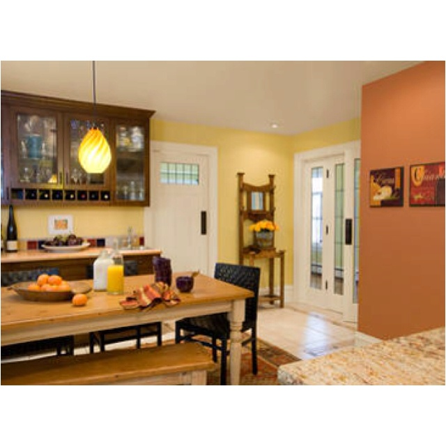 Benjamin Moore Kitchen Paint Color Ideas Westminster Gold And Sienna 640x640