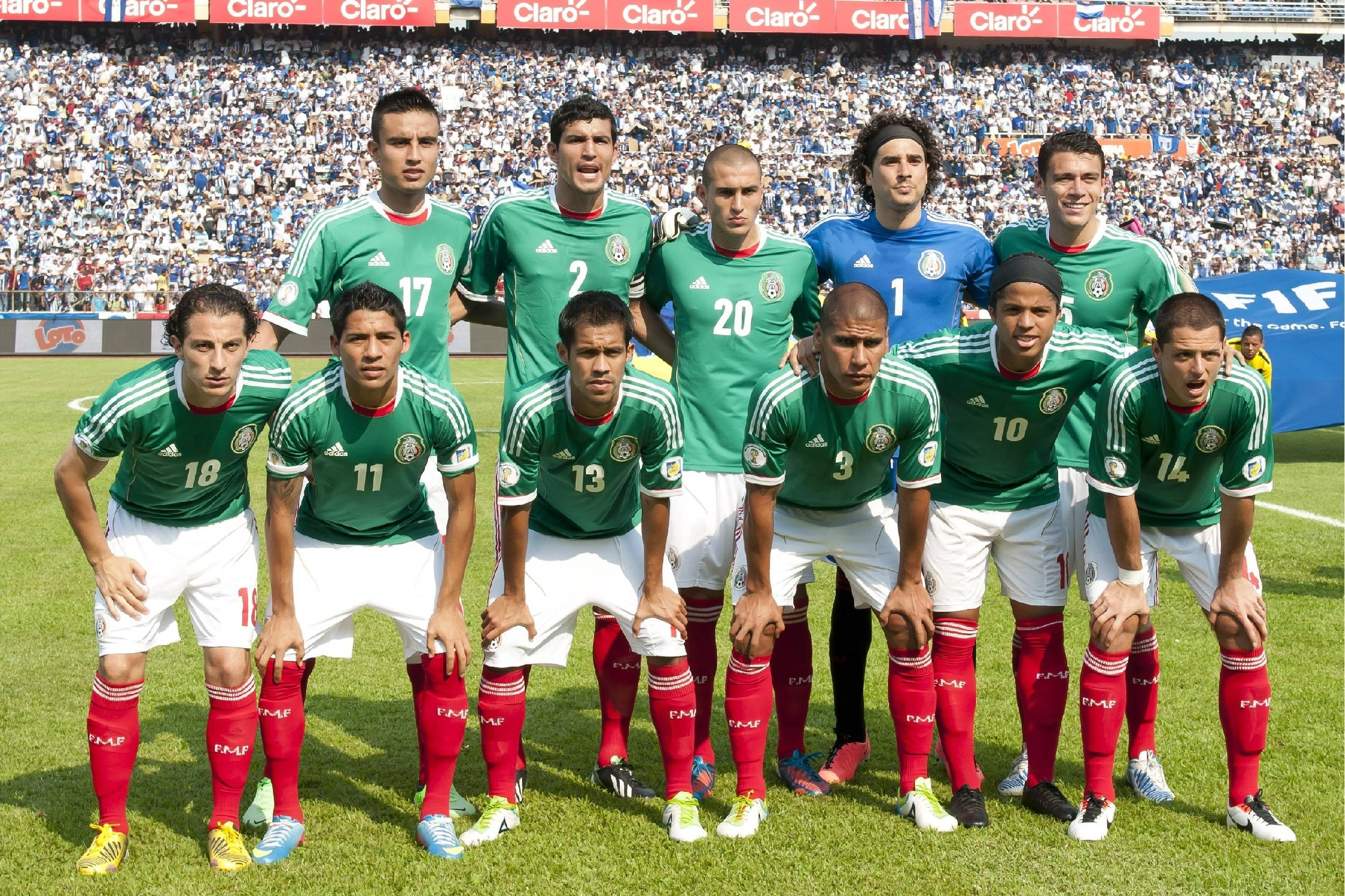 Mexican Soccer Team 2015 Wallpapers 2504x1668