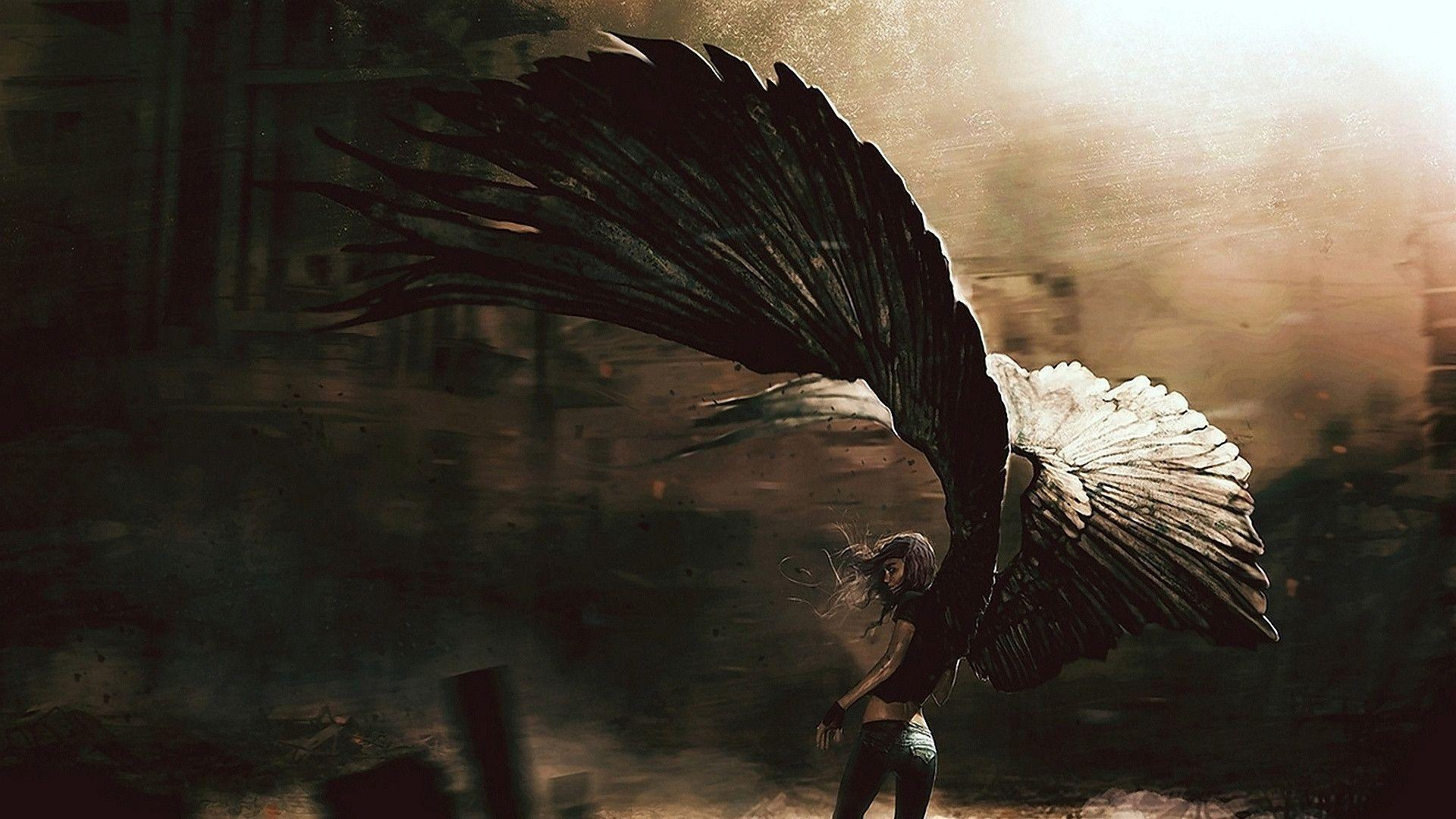 Fallen Angel Wallpapers 1920x1080