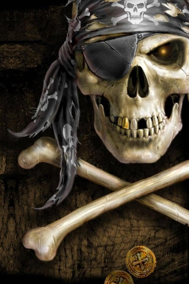 Errr Pirate iPhone Wallpaper iPhone 4 640x960
