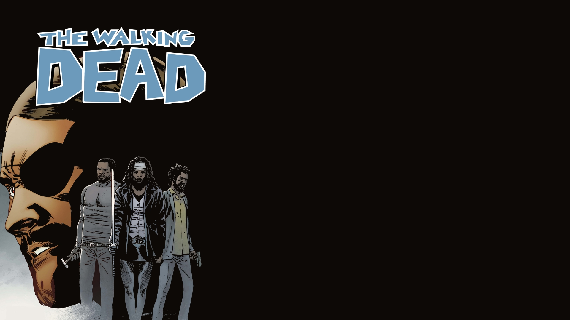 walking dead comic wallpaper - wallpapersafari