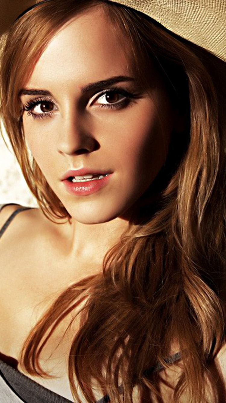 Emma Watson iPhone 6 Wallpaper and iPhone 6 Plus Wallpapers 750x1334