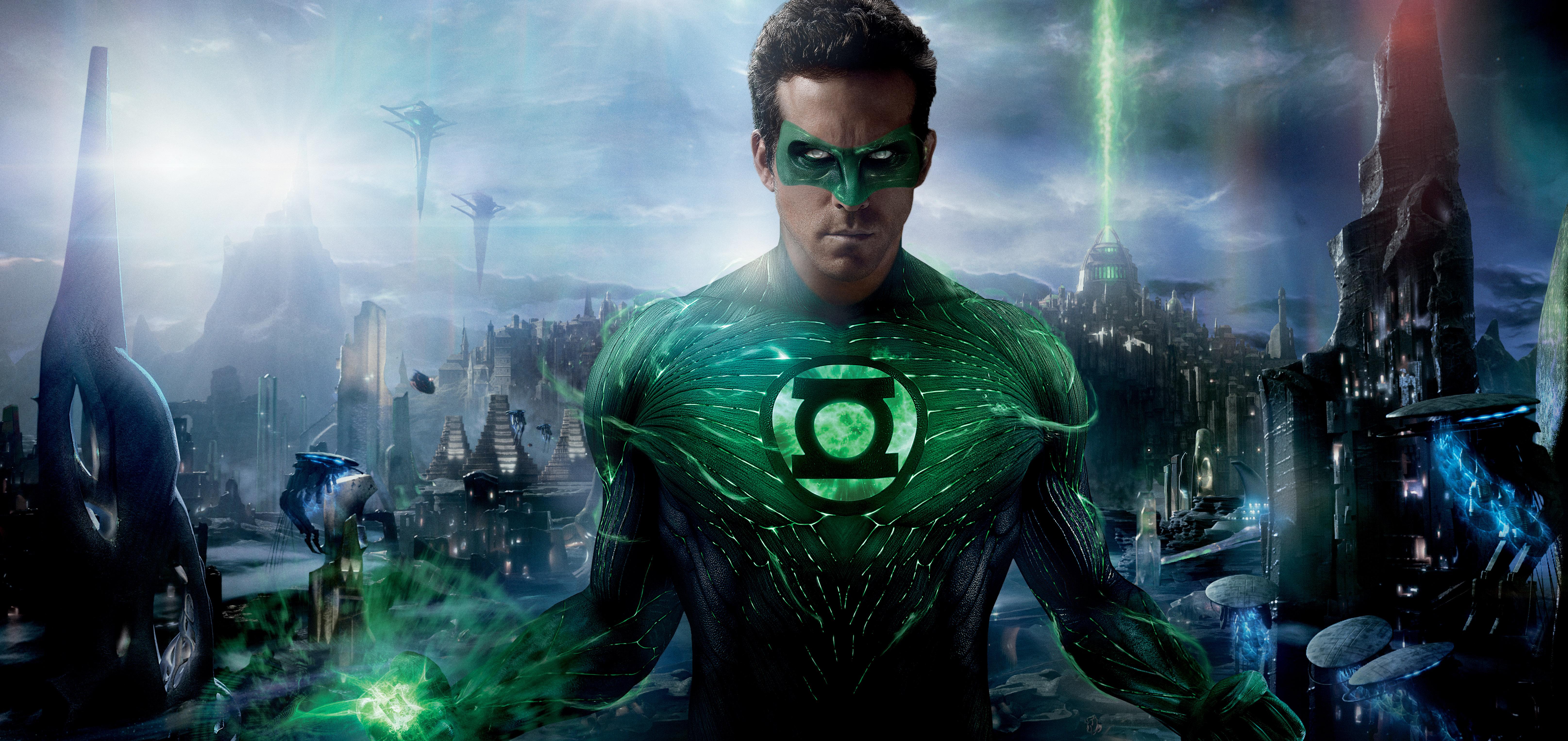 Green Lantern 5k Retina Ultra HD Wallpaper Background Image 6459x3054