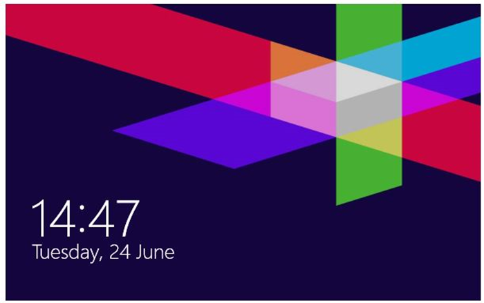 How to remove lock screen wallpaper windows 8