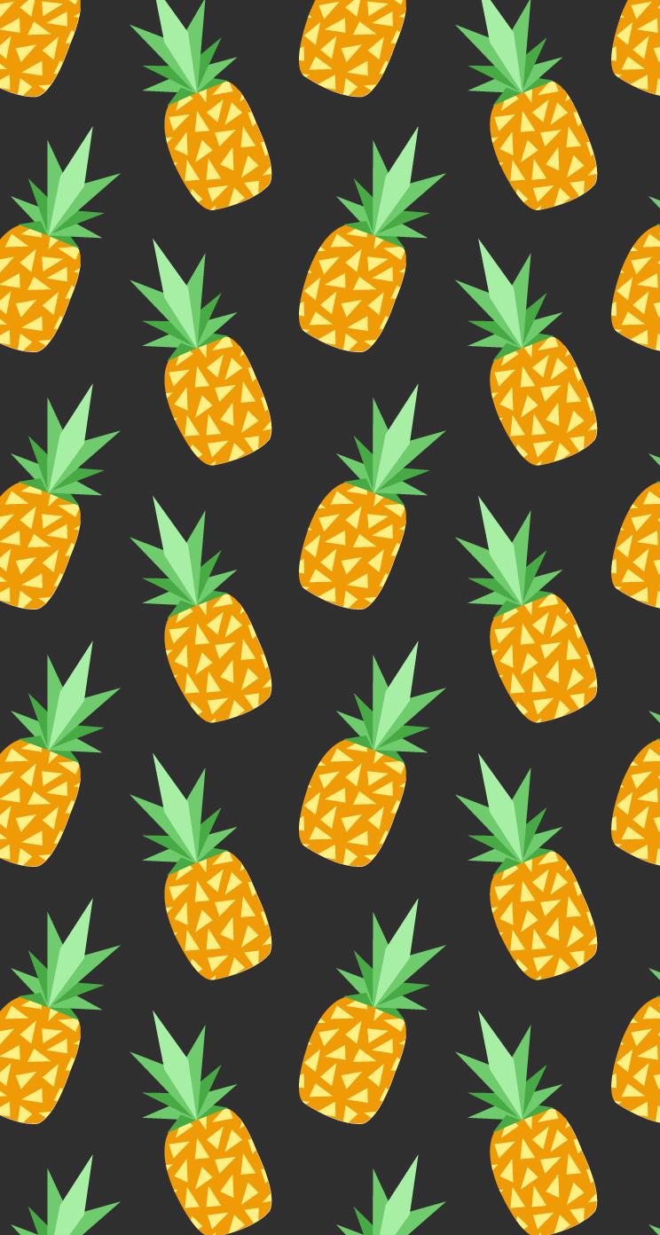 48+ Gold Pineapple Wallpaper on WallpaperSafari