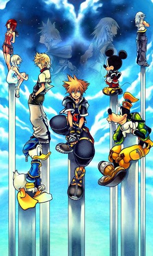 View bigger   Kingdom Hearts 3D Game Live WP for Android screenshot 307x512