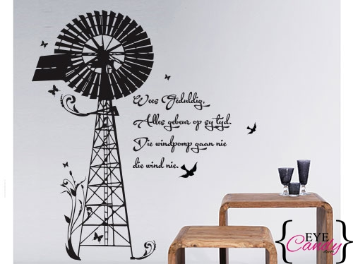 Floral Windpump Eye Candy Decor 500x374