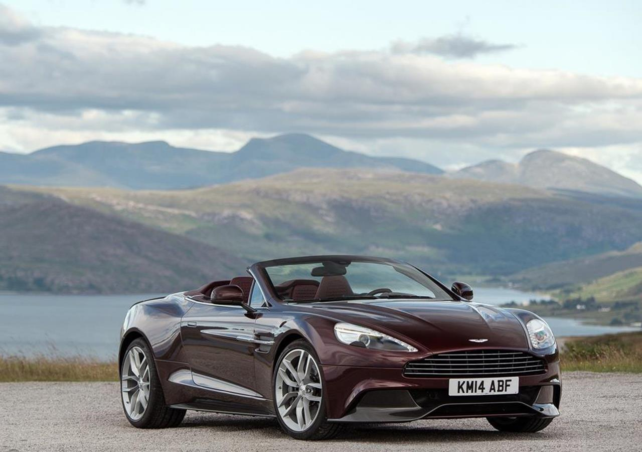 Aston introduce a new car Aston Martin Vanquish Volante for 2014 1280x900