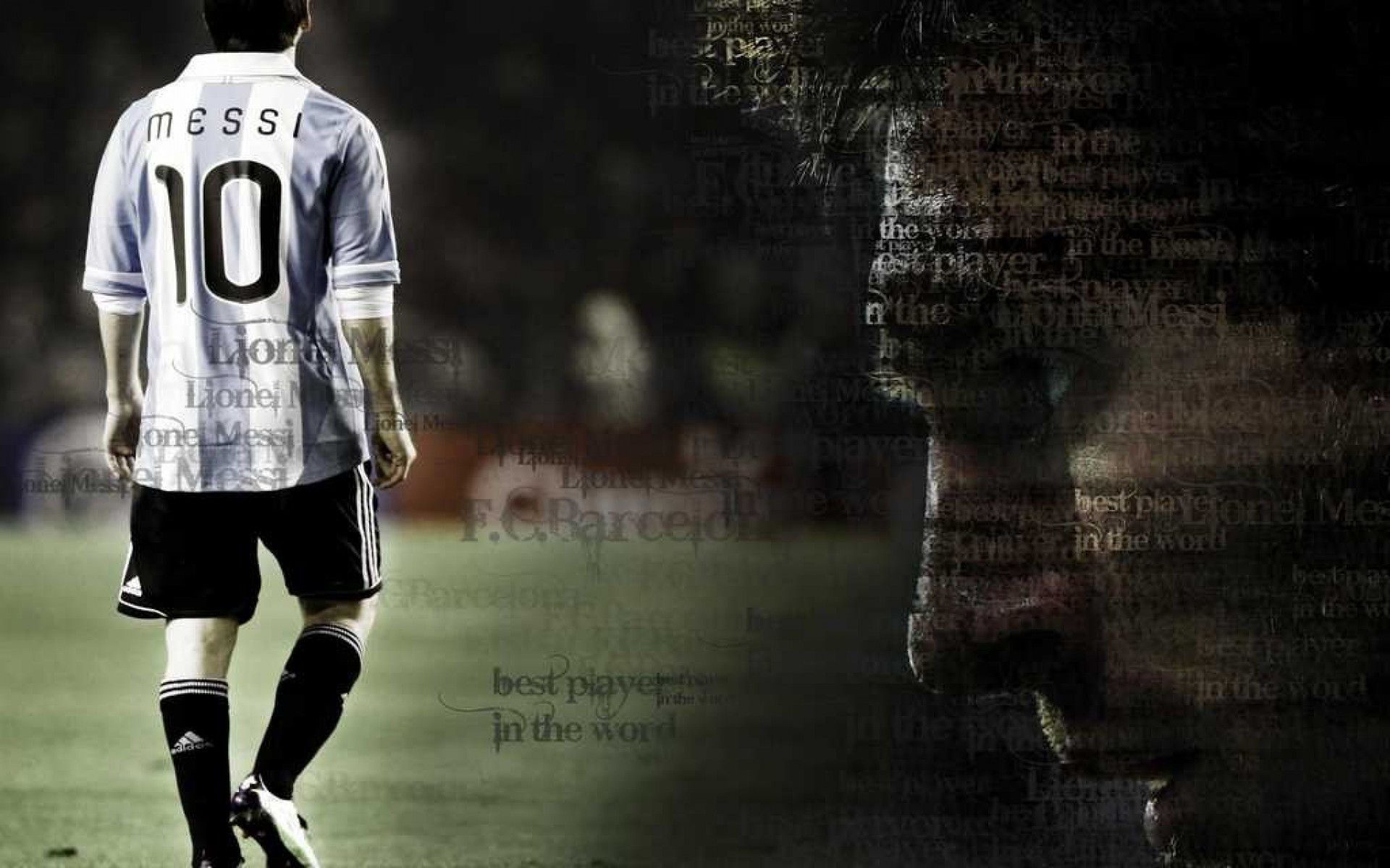 argentina lionel messi national football team wallpapers 1920x1200