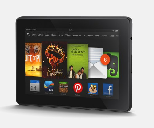 Kindle Fire HDX Landscape AngleKindle Fire Tablet Tips And Tricks 500x414