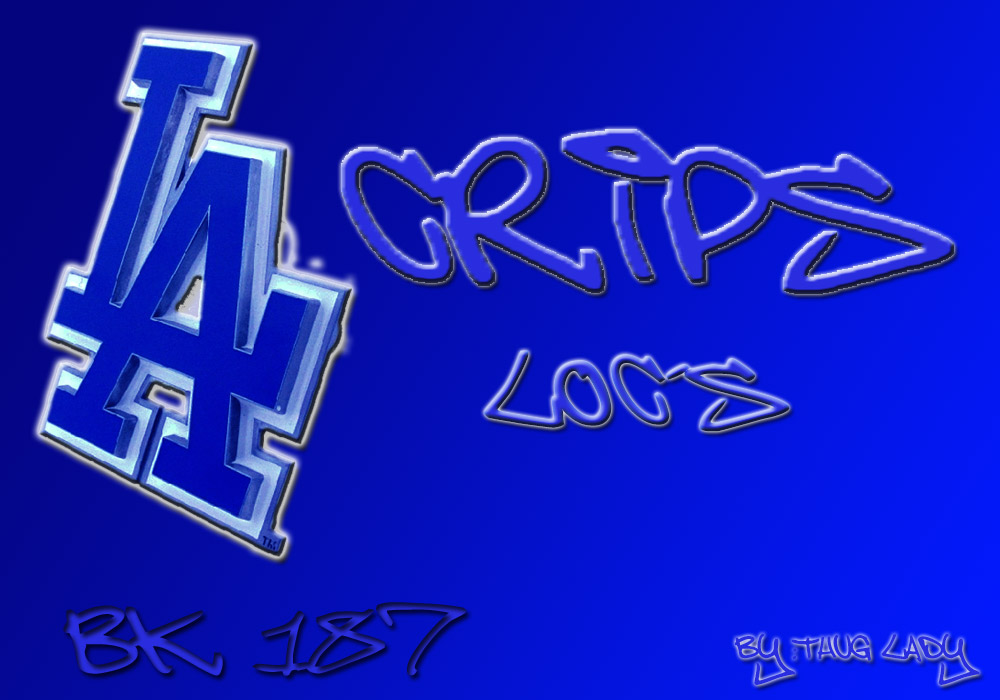 Hoover Crip Flag - Marcpous