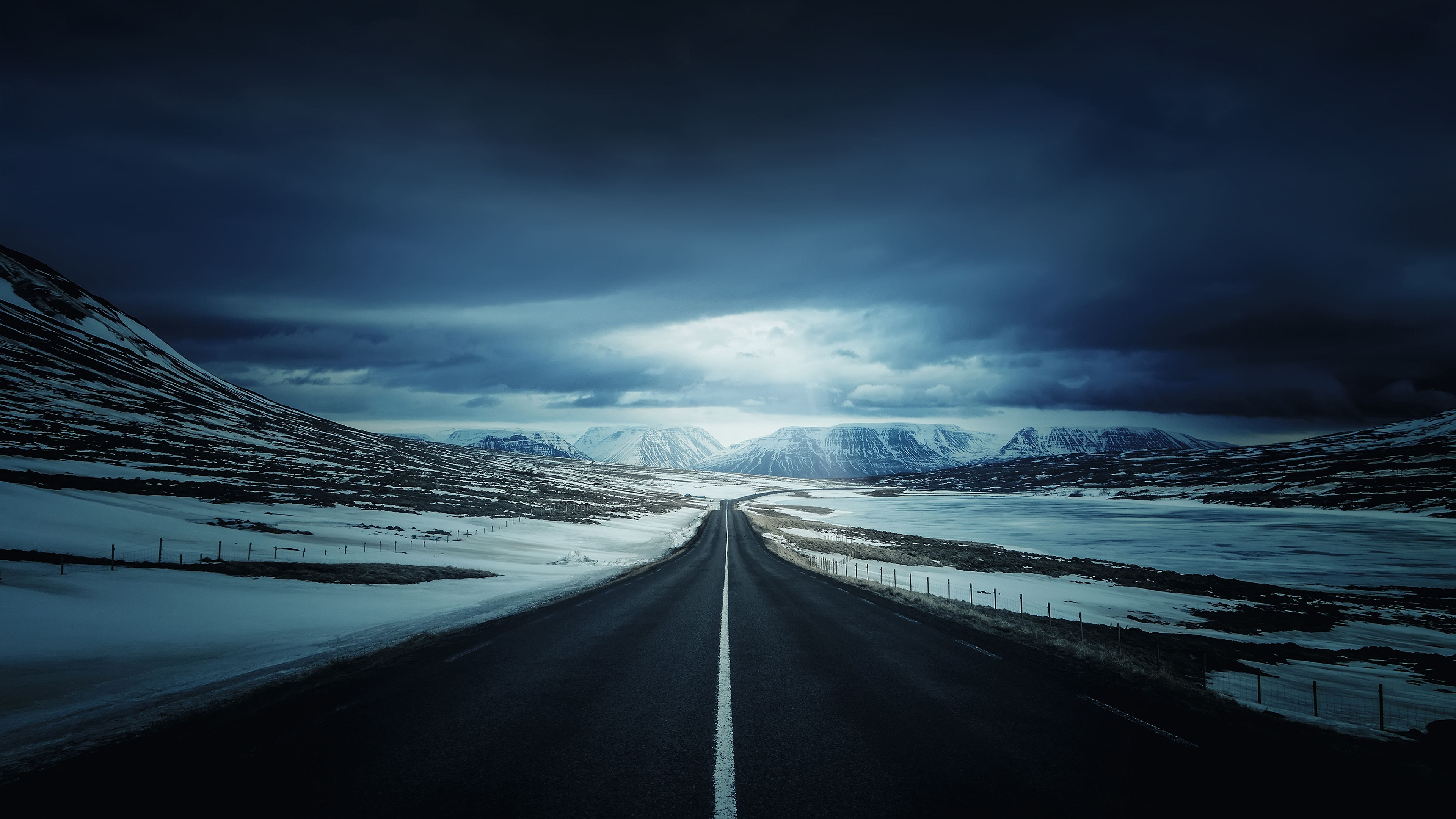 Icelands Ring Road Wallpapers HD Wallpapers 3840x2160