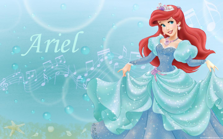 Walt Disney Images   Princess Ariel   Disney Princess Wallpaper 1440x900