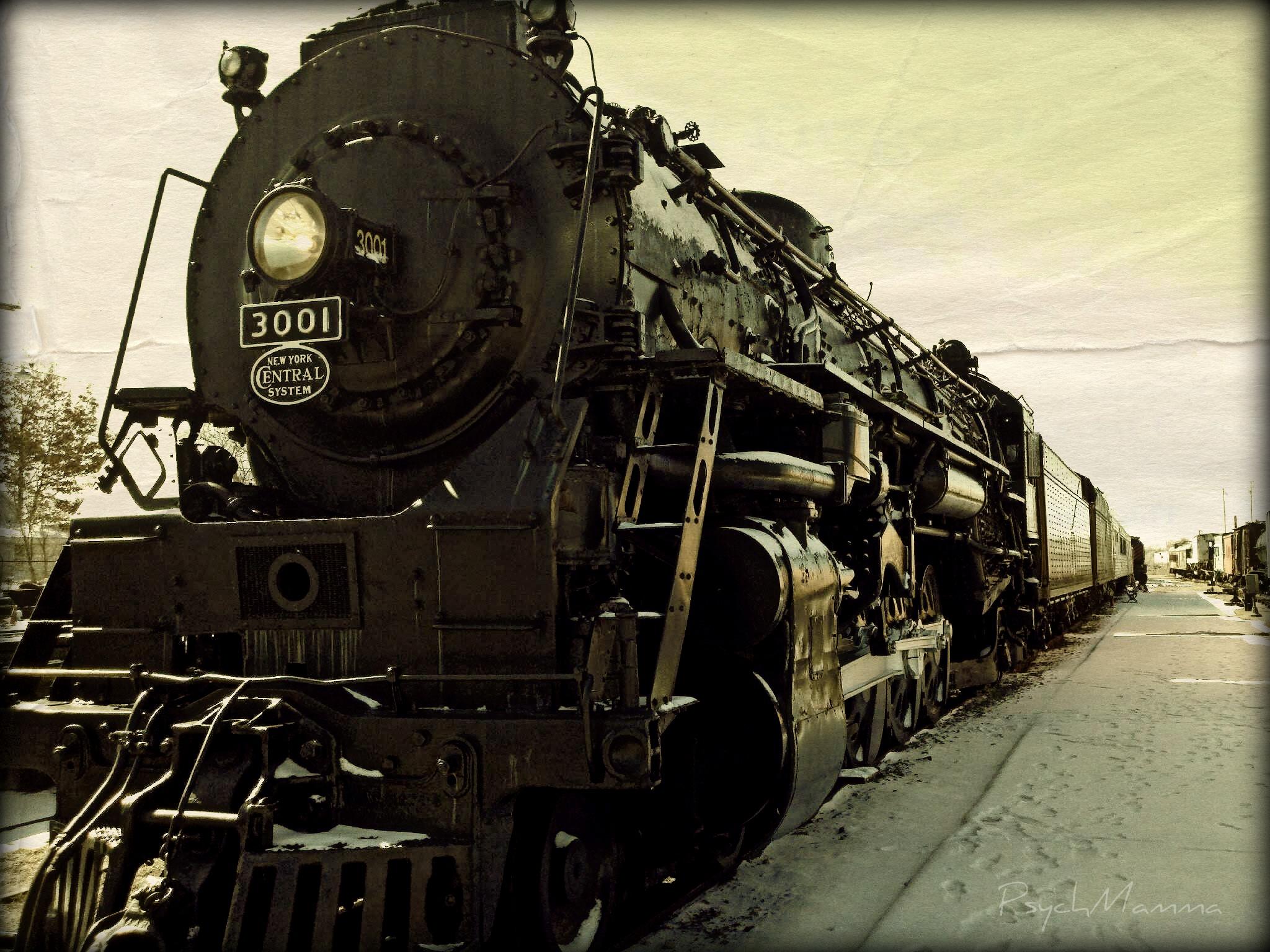 Vintage Train 2048x1536