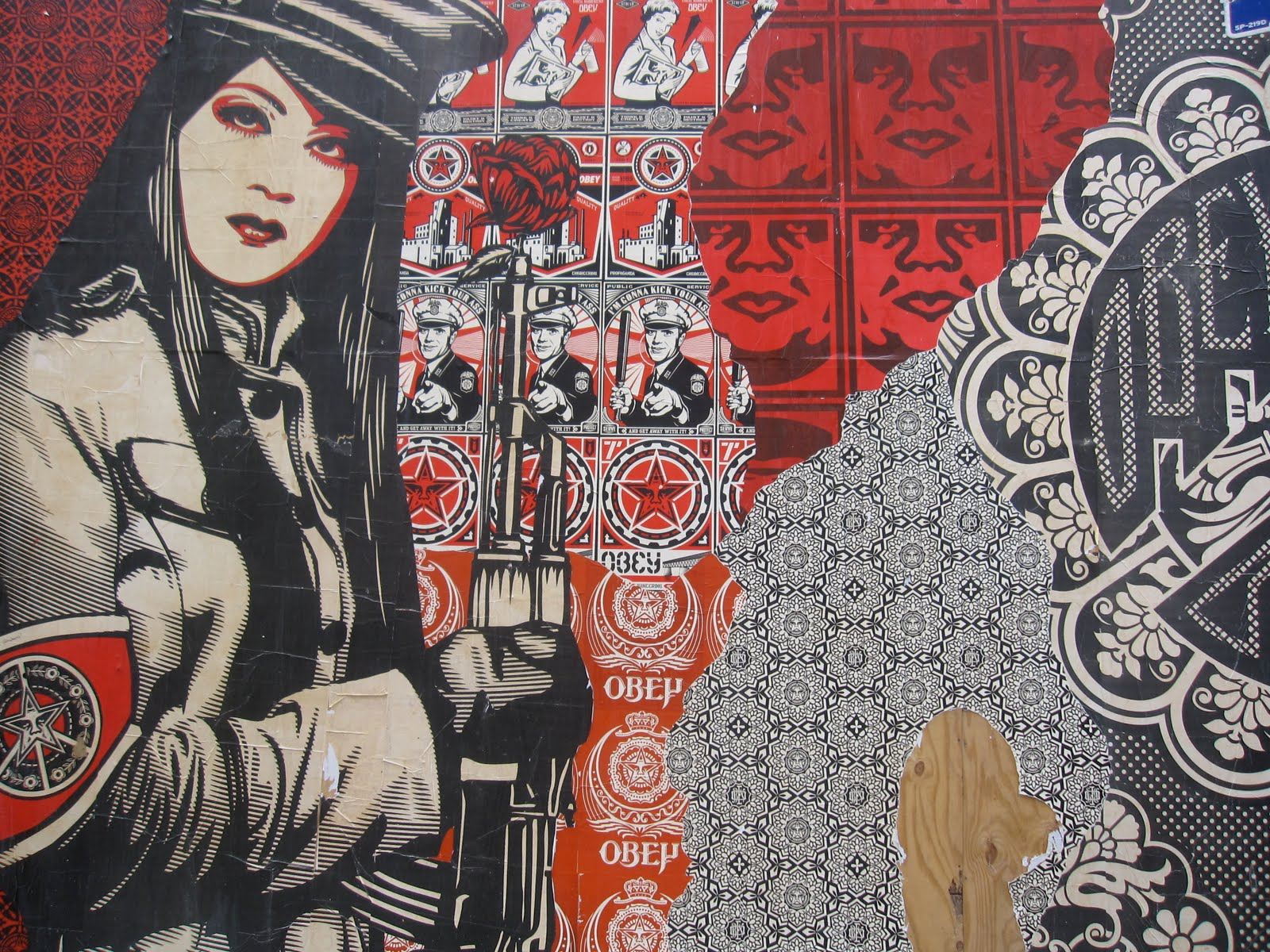 shepard fairey wallpaper  HD Photo Wallpaper Collection HD WALLPAPERS 1600x1200