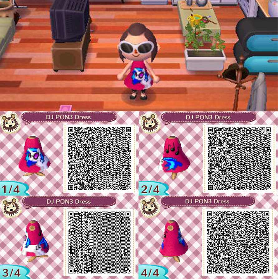 Black dress qr code - Images And Information Animal Crossing New Leaf Qr Codes Wallpaper