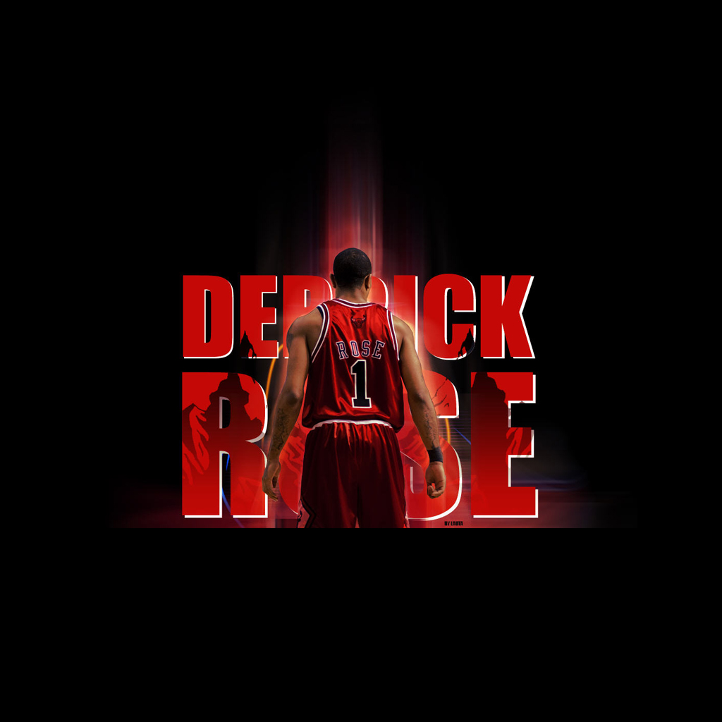 Derrick Rose HD Images Wallpapers 1024x1024