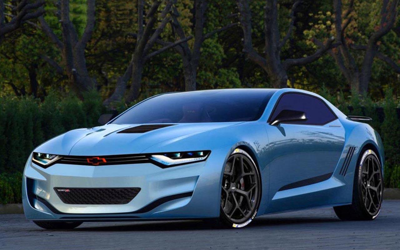 2016 Chevrolet Camaro SS Rendering 1280x800