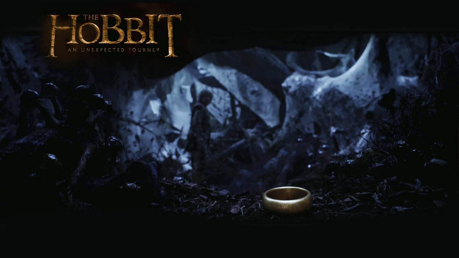 The Hobbit   The Ring Wallpaper   The Hobbit Wallpaper 33042240 1600x900