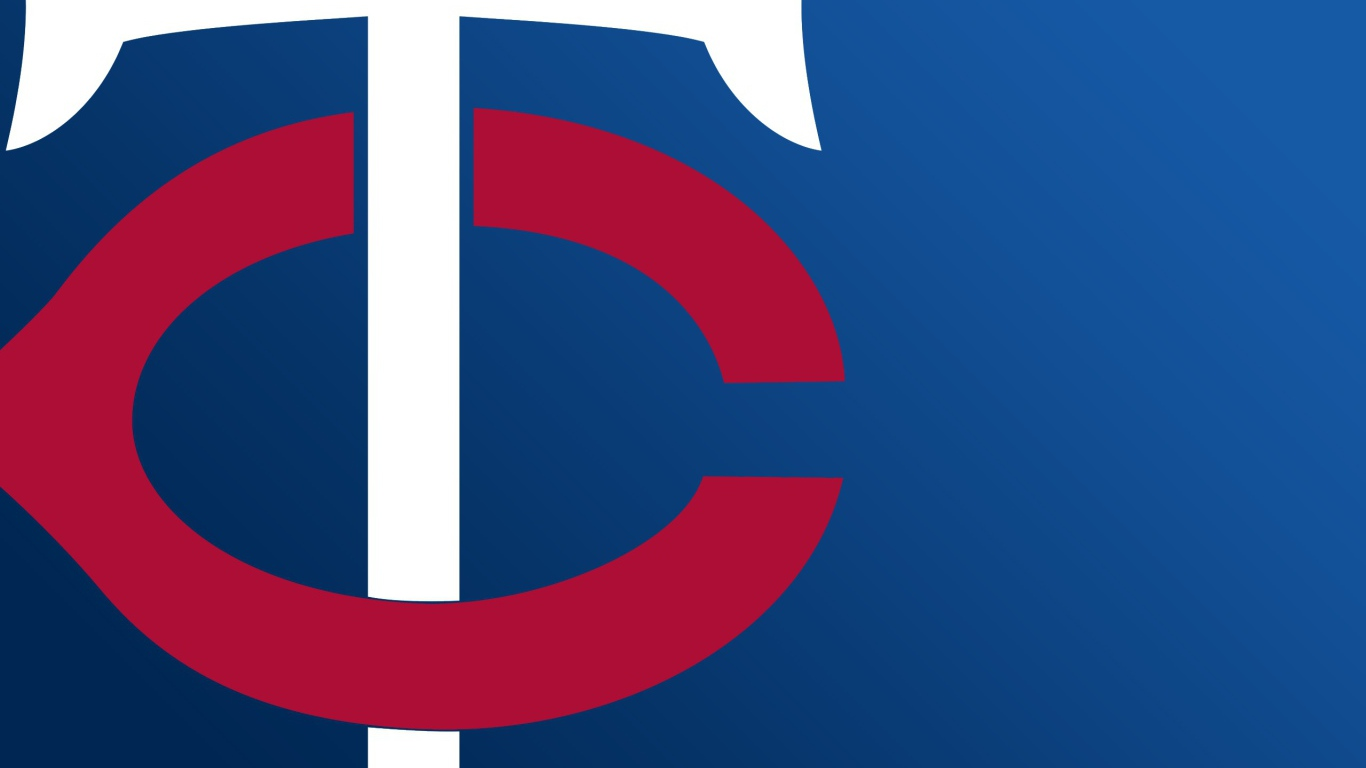Minnesota Twins baseball team league baseball logo Desktop 1366x768
