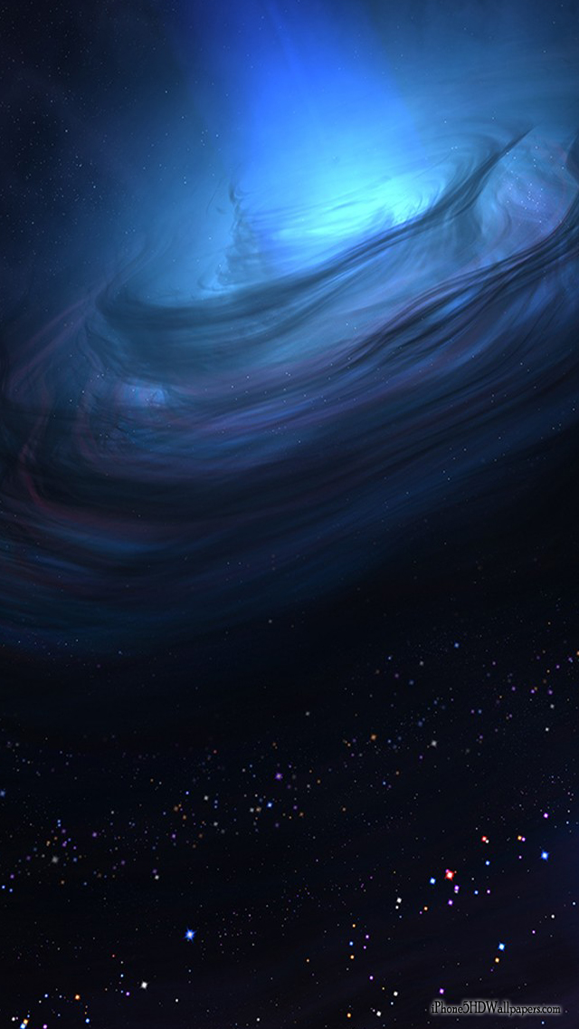 iPhone 5 Wallpapers 640X1136 Deep Blue Space   iPhone 5 HD Wallpapers
