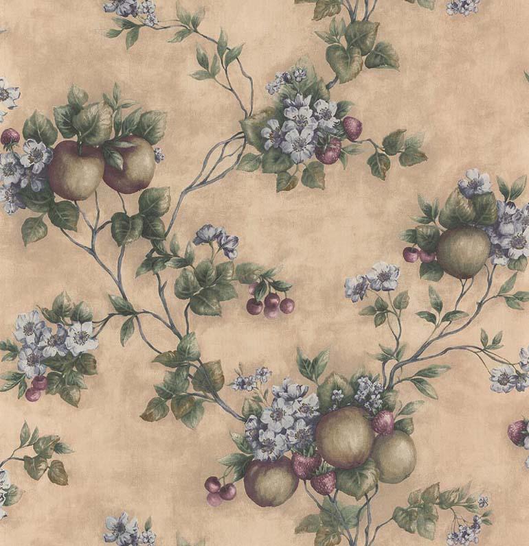 Kitchen Art Leaves Fruits Cherry Wallpaper KA23654 eBay 770x796