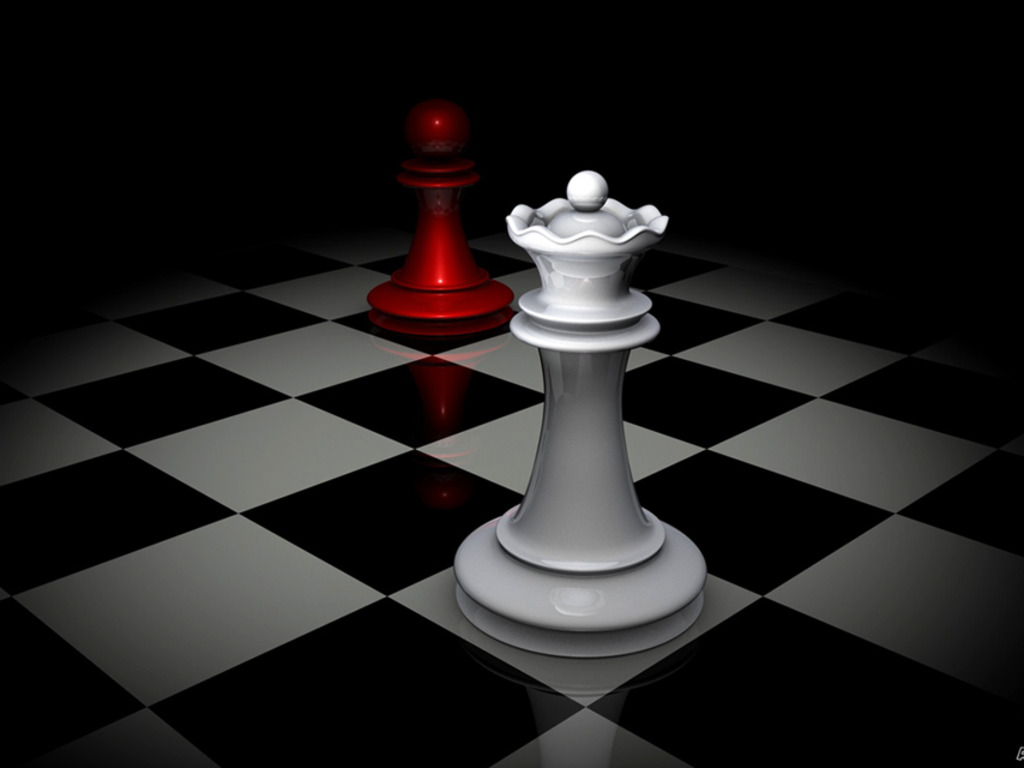 Group Of Queen King Chess Wallpaper Widescreen